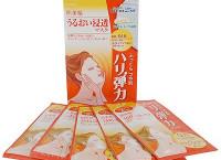 Маска для лица «Hadabisei» с коэнзимом Q10, для сухой и склонной к появлению морщин кожи, 5 шт