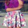 Воздушная юбка-«солнце» – образец женственности и романтичности!