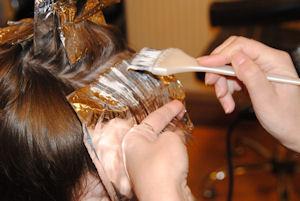 цвет волос коньяк
