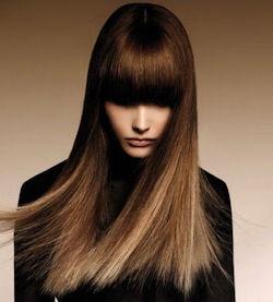 градиентное окрашивание волос