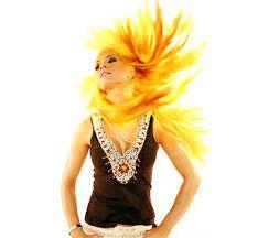желтый цвет волос