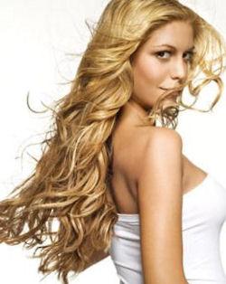 соломенный цвет волос