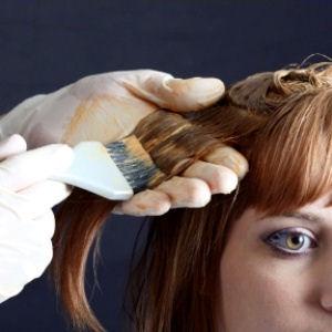 терракотовый цвет волос