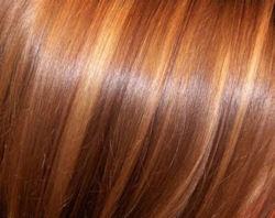 янтарный цвет волос