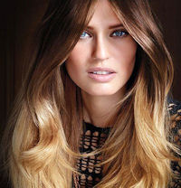 окраска волос омбре