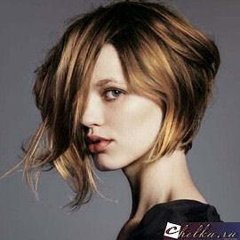 шатуш на короткие волосы