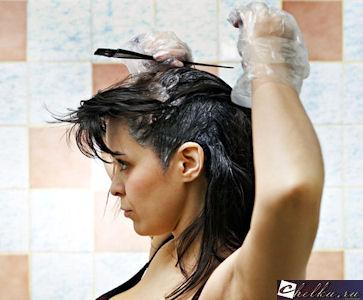 черный тоник для волос