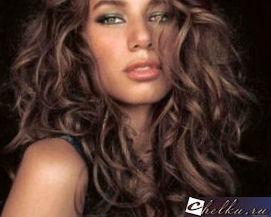 биозавивка волос крупные локоны