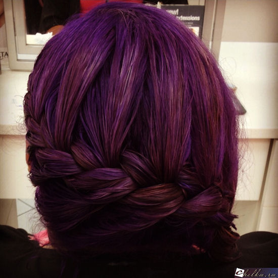 аметист цвет волос