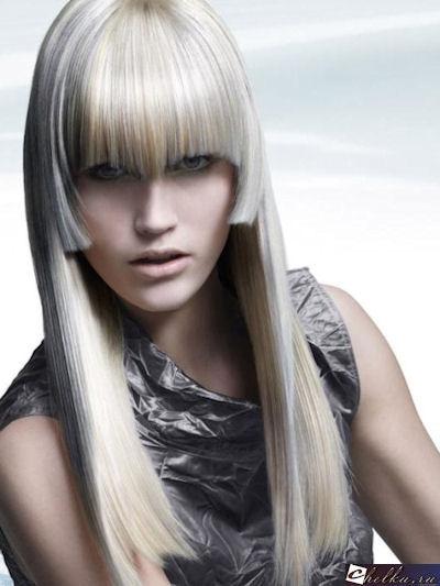 стальной цвет волос