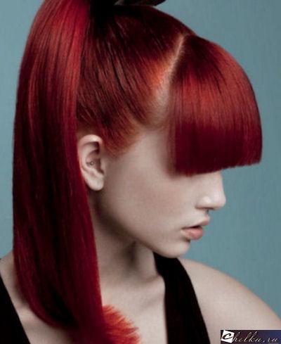цвет волос рубин