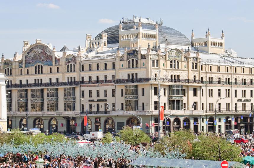 Самые популярные отели Москвы