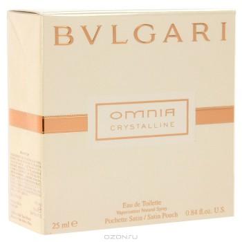 "Bvlgari ""Omnia Crystalline"". Туалетная вода, 25 мл"