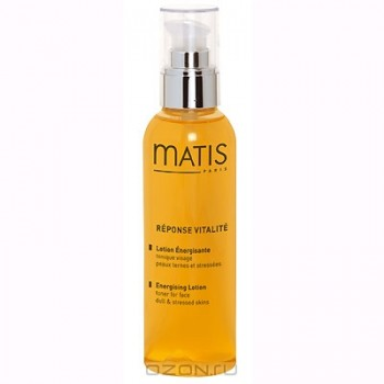 """Тонизирующий лосьон """"Matis"""". С витаминным комплексом, для всех типов кожи, 200 мл"""
