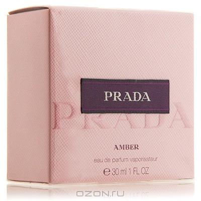 """Prada """"Prada Amber"""". Парфюмированная вода, 30 мл"""
