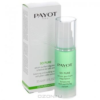 """Регулирующая сыворотка """"Payot"""", очищающая, для жирной и комбинированной кожи, 30 мл"""