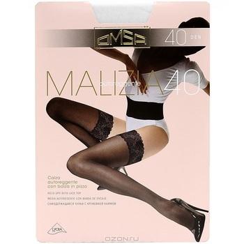 """Чулки Omsa """"Malizia 40"""". Bianco (белые), размер 3"""